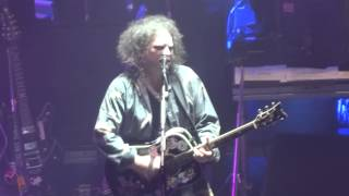 THE CURE - FROM THE EDGE OF THE DEEP GREEN SEA - LIVE LONDON @ APOLLO EVENTIM 21/12/2014