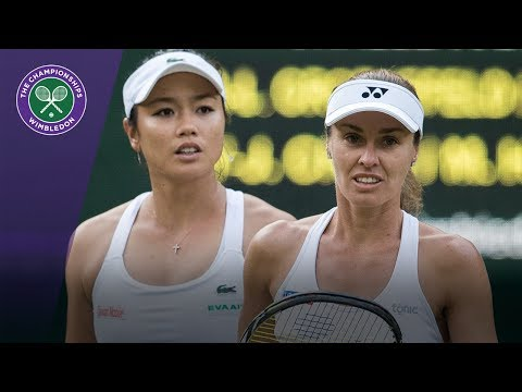Chan/Hingis win epic point in Wimbledon 2017 ladies' doubles