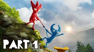 Unravel Two Gameplay Walkthrough Part 1 - INTRO