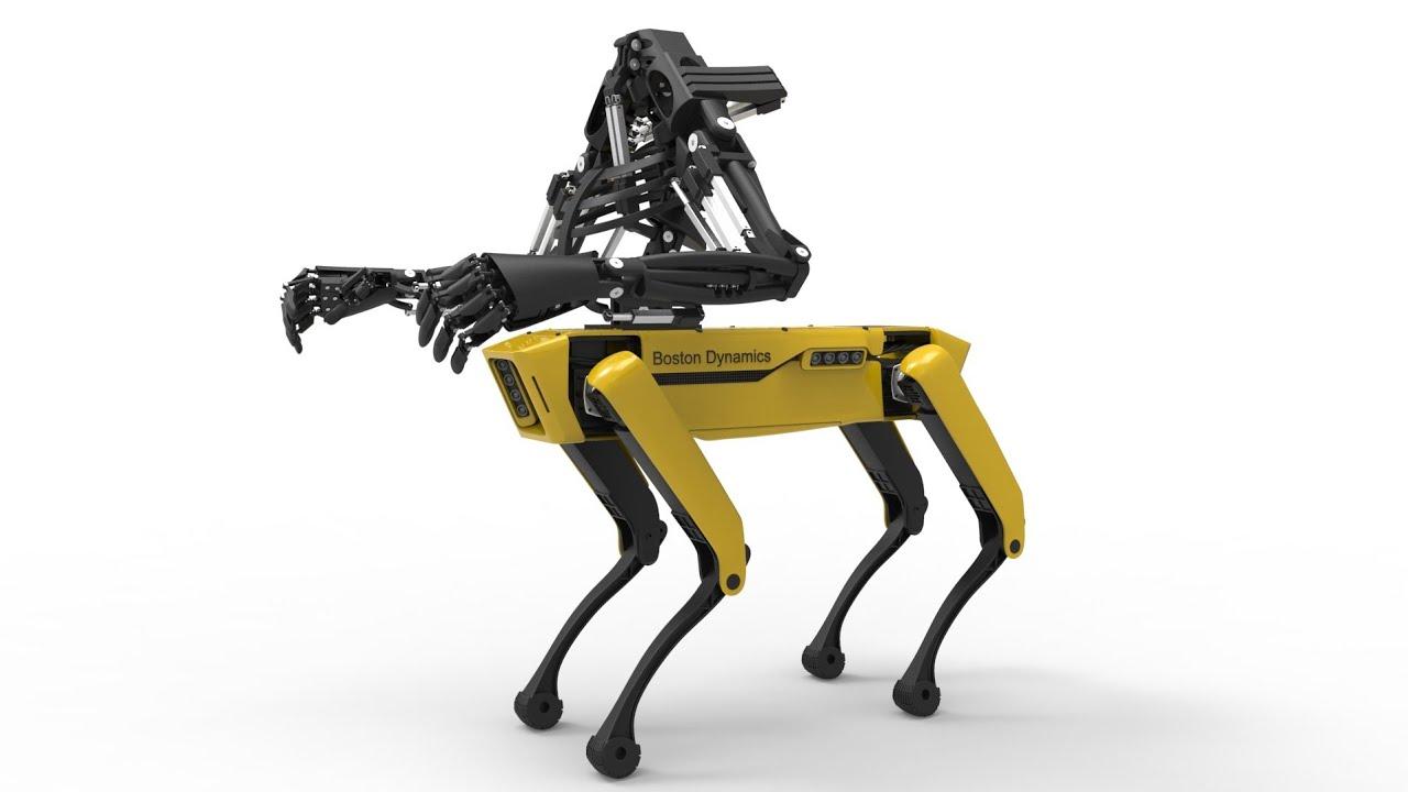 roboti mbwa dynamics robots
