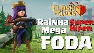 A RAINHA MAIS FODA DO CLASH OF CLANS | DC CLASH