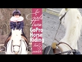 GoPro Horse Riding ... The Girls Turn! Trot, Canter, and Two Point