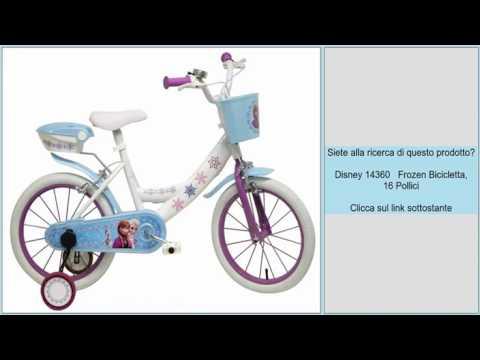 Disney 14360 Frozen Bicicletta 16 Pollici