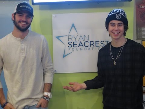 Nash And Will Grier Visit Seacrest Studios In Their Hometown