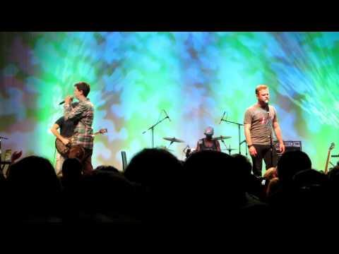 CARDBOARD CASTLES - George Watsky and Dylan Saunders - LIVE VidCon 2012