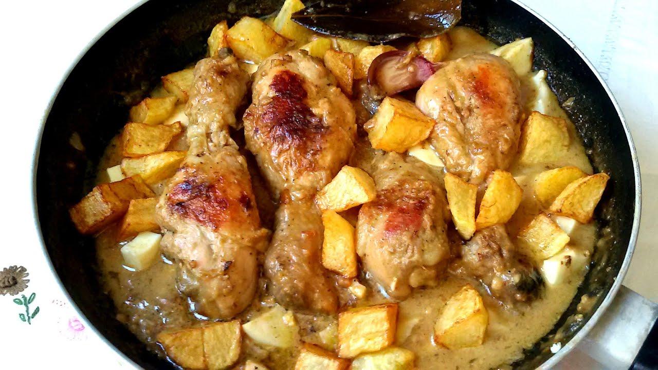 Pollo En Pepitoria O Pollo Al Huevo Anna Recetas Fáciles