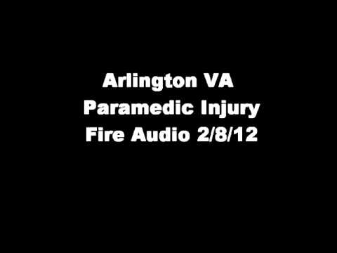 Arlington VA Paramedic Accident Audio 2/8/12