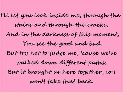 Thompson Square - Glass - lyrics
