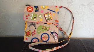 8692b0d9cc Tuto sac/ pochette a bandoulière ~Couture Stefellya