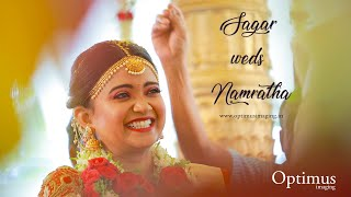 Sagar Bocheer weds Namratha Sidhappa || Weddings by Optimus Imaging || Kannada Wedding