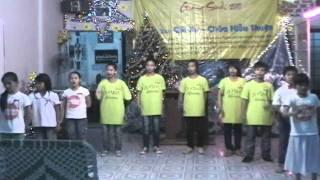 Giáng sinh HTTL Vĩnh Long ( Múa: xin cha dạy con- Nhóm Harmony)