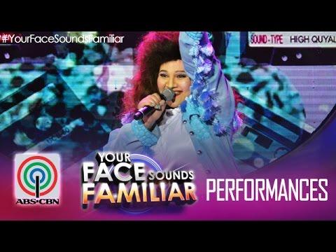 "Your Face Sounds Familiar: Karla Estrada as Manilyn Reynes - ""Sayang Na Sayang"""