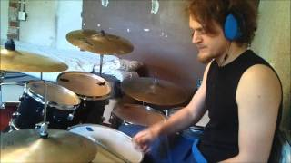 In Flames - The Jester Race Drum cover!  [TheAmagaaad]