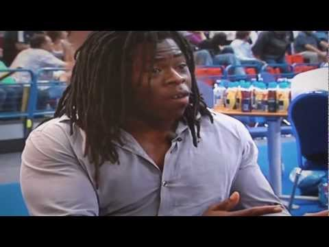Sam Neter & Sillky Back British Basketball Ch4 Interview with Ade Adepitan - Ukraine vs GBB Halftime