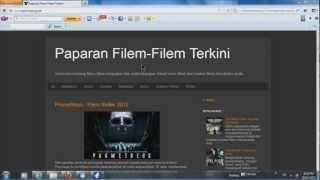 Cara Download Movie Torrent guna Vuze dari layanwayang.net