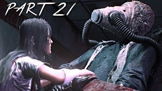THE EVIL WITHIN 2 Walkthrough Gameplay Part 21 - Flamethrower Boss (PS4 Pro)