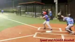 Speed and Power: Little League, Jr League, RBI