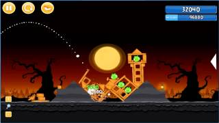 Angry Birds trick or treat 3 Estrellas instancia de parte 3-10