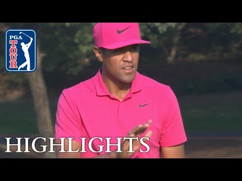 Tony Finau's Round 3 highlights from HSBC Champions 2018
