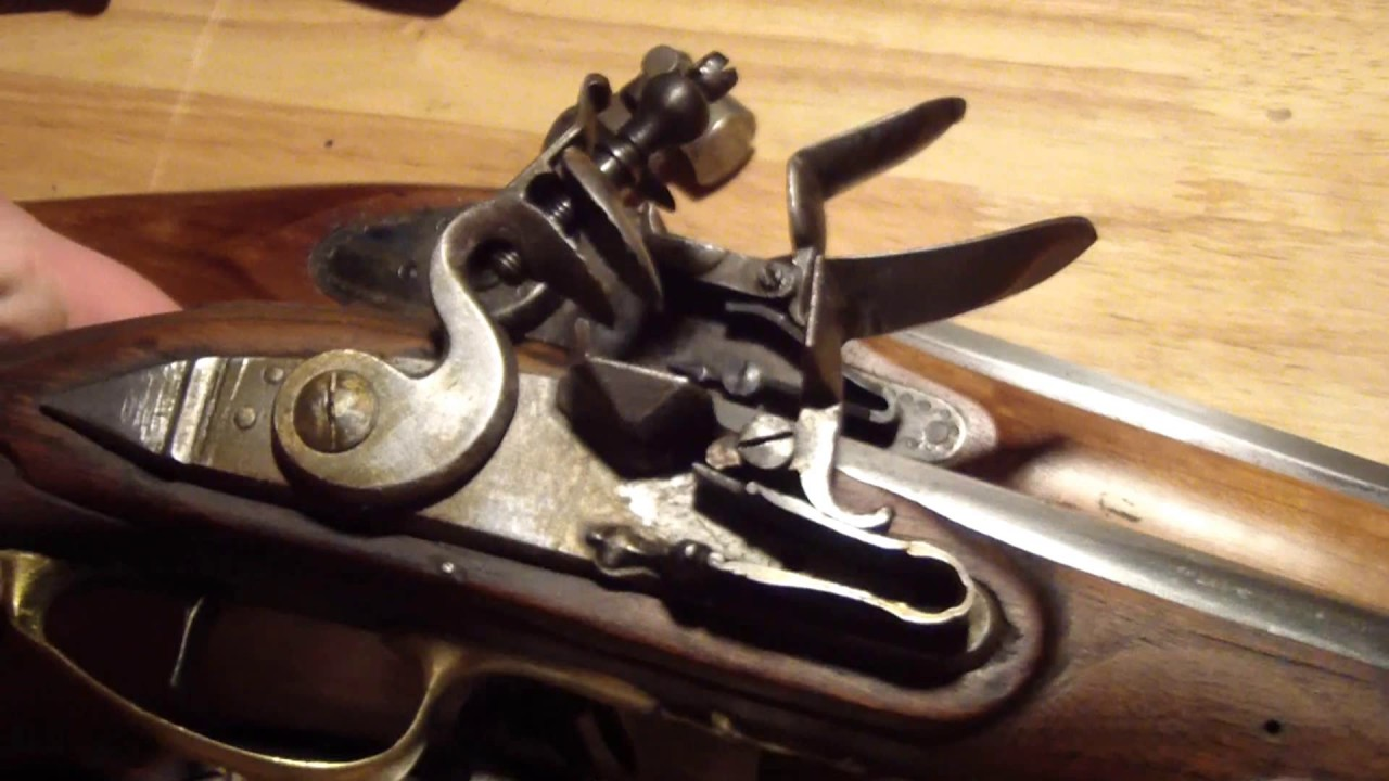 Pedersoli flintlock  45 Cal Mystery rifle