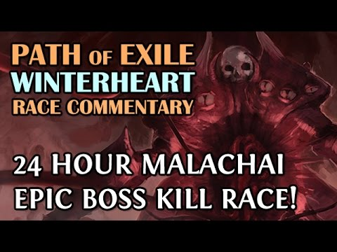 Path of Exile: 24Hr Arctic Boss Kill Race - EPIC Race with 20 Boxes & Icy Death Clouds! (Ranger)