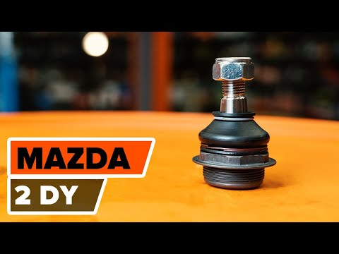 How to replace ball joints on MAZDA 2 DY TUTORIAL | AUTODOC