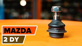 How to replace Suspension springs on MAZDA 2 (DY) - video tutorial