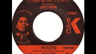JAMES BROWN IT S A NEW DAY SINGLE Lyrics Included 9 3 1969 HD HQ 1080p