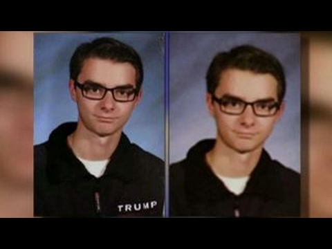 Students' Trump shirts altered in high school yearbook