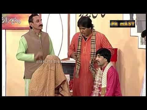 Best Of Sajan Abbas and Tariq Teddy New Stage Drama Comedy Clip: