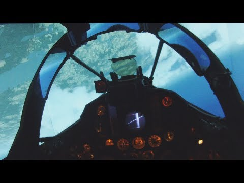 Fighter Jet Simulator (real J35 cockpit) - Flying, intercept and landing