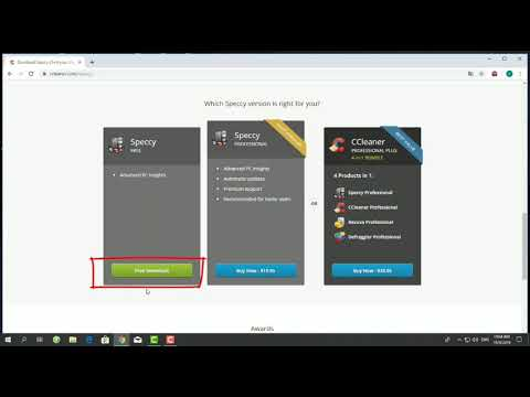 Tutorial How To Download Speccy Software thumbnail