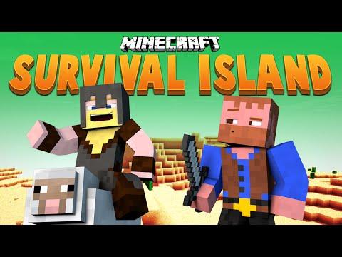 ROLLER COASTER OF DOOM ★ Minecraft Survival Island (28)
