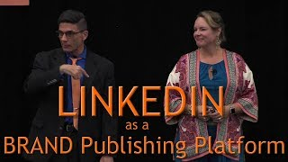 #CMWorld 2018 - LinkedIn Content Marketing Strategies