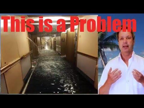 Carnival Dream Flooding - Carnival Cruise ship floods