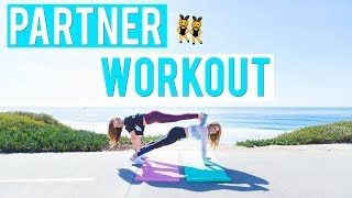 Best PARTNER Workout | Exercises You Can Do w/ a Friend