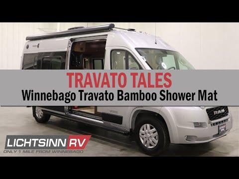 LichtsinnRV.com - Winnebago Travato Bamboo Shower Mat