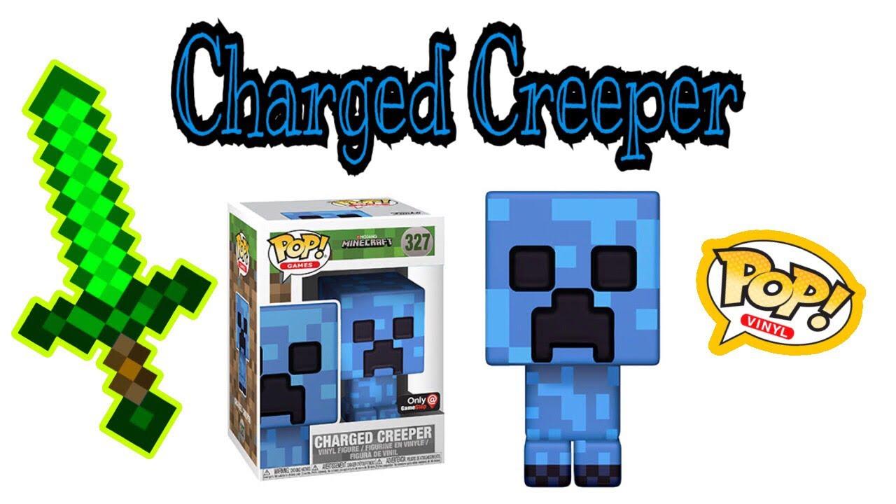 Funko Pop Minecraft Charged Creeper Vinyl Figure