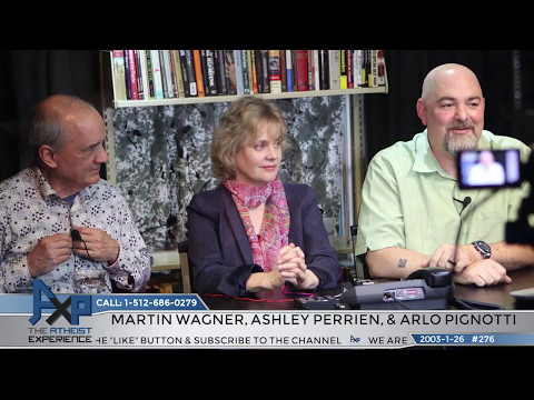"""""""Lost"""" Atheist Experience #276 with Martin Wagner, Ashley Perrien, and Arlo Pignotti"""