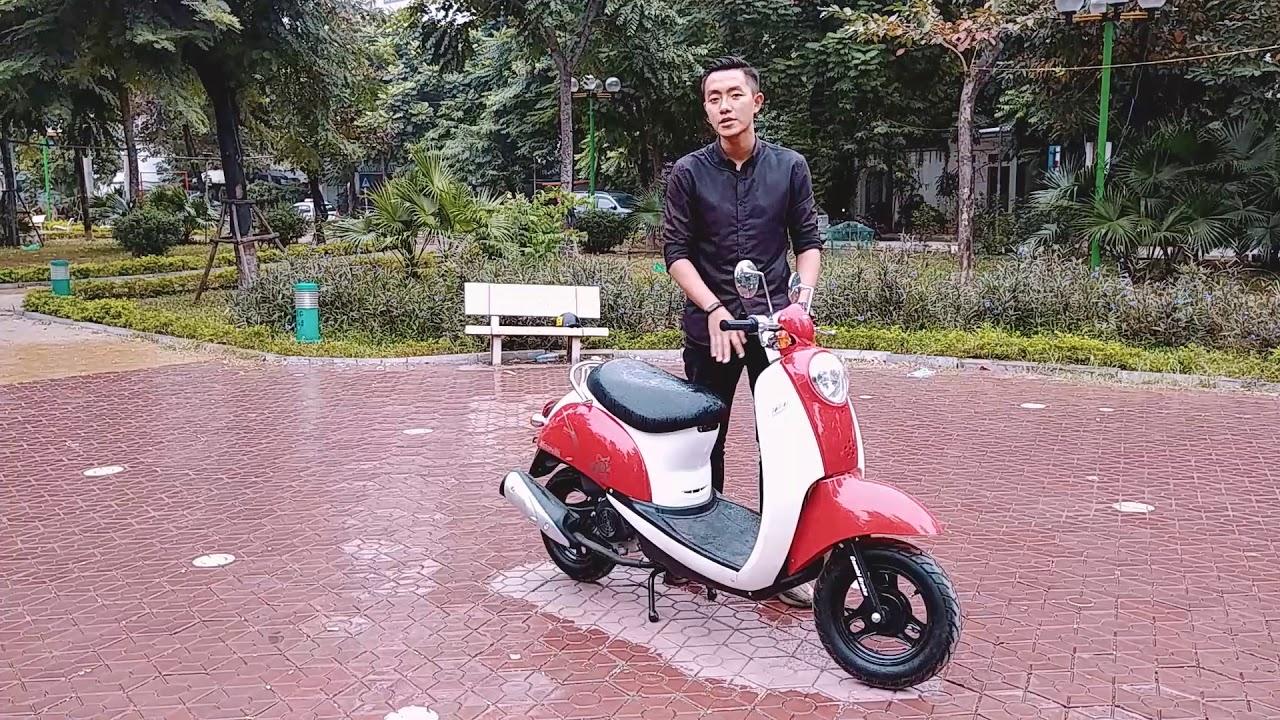 Đánh giá và trải nghiệm xe tay ga 50cc Scoopy: Rất phù hợp với đường phố Việt Nam