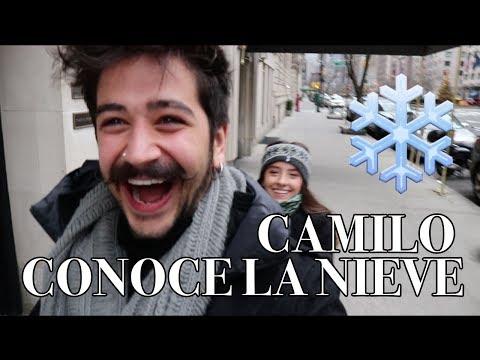 CAMILO CONOCE LA NIEVE - Camilo y Evaluna (VLOG)