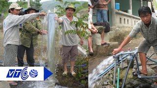 Giếng nước tự phun trào tại Phú Yên | VTC