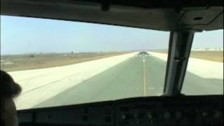 Larnaca to Paphos (Cockpit A320)