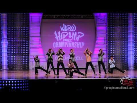 FRESHEST NUTZ (Singapore) 2012 World Hip Hop Dance Championship