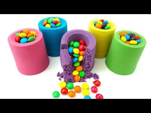 Сюрпризы из кинетического песка. Сюрпризы и игрушки. Видео для детеи. Детскии канал