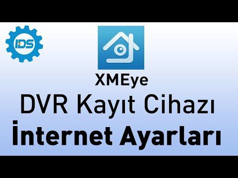 DVR Kayıt Cihazı İnternet Ayarları - XMEYE