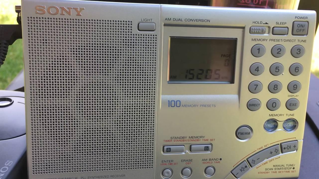 DX'pedition Radio Saudi Heard in Kingston, NY On Sony ICF-7600GR