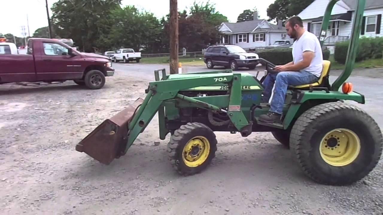 John Deere 955 Tractor Battery Wiring Harness A Loader Youtube 1280x720