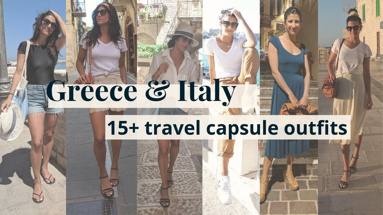 [VIDEO] - Travel Capsule Wardrobe Lookbook | Outfit Ideas for a European Holiday 4