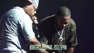 Busta Rhymes & Spliff Star Live Concert Monegros Festival 2011 (Spain) HD